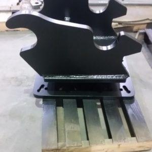 Weld on adaptor plate